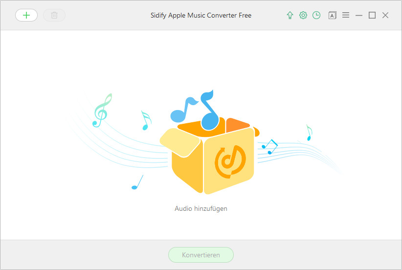 Hauptinterface von Apple Music Converter Free für Windows