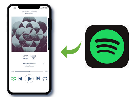 Spotify Musik auf iPhone
