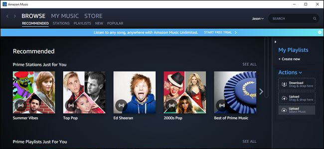 Apple Music auf Amazon Music hinfuegen