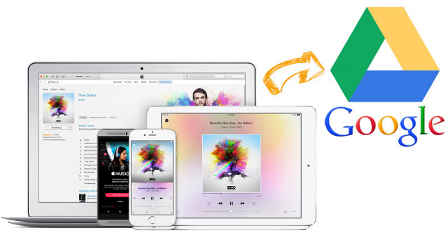 Apple Music zu Google Drive