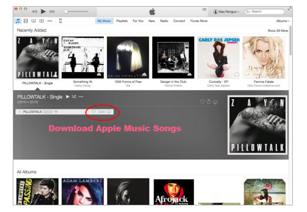 Download Apple Music Songs