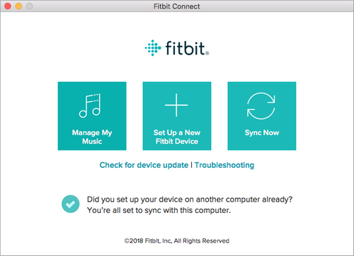Fitbit Connect