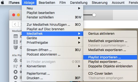 Import Spotify Music to iTunes Playlist