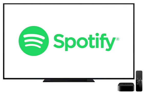 Spotify Music auf Apple TV 4