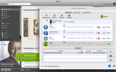 musik aus spotify aufnehmen mac