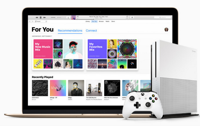 Streamen Sie Apple Music auf Xbox One