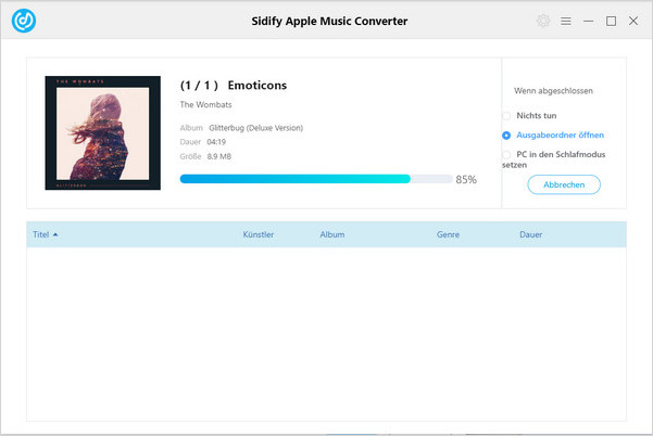 Apple Music in WAV konvertieren