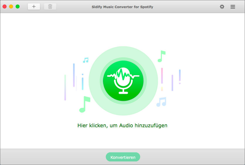 Sidify for Mac main interface