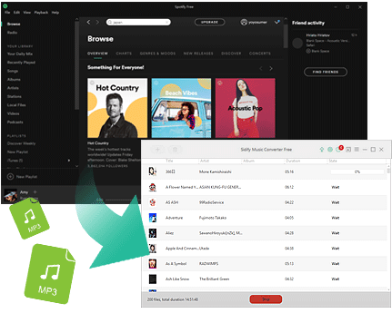 Spotify Music Conveter Free