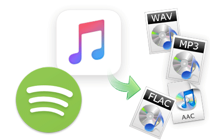 Convert spotify music to MP3 or AAC