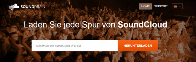 Laden Sie SoundCloud Musik mit Sound Drain herunter